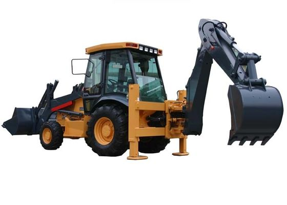 Traktor Backhoe Loader